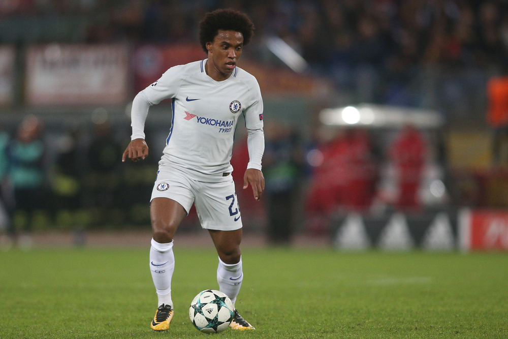 Arsenal complete signing of Willian on a free transfer