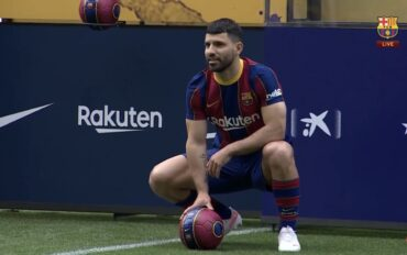 Barcelona sign Sergio Aguero on a free transfer from Man City